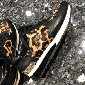 Micheal Kory Calf Skin Leather Sneakers